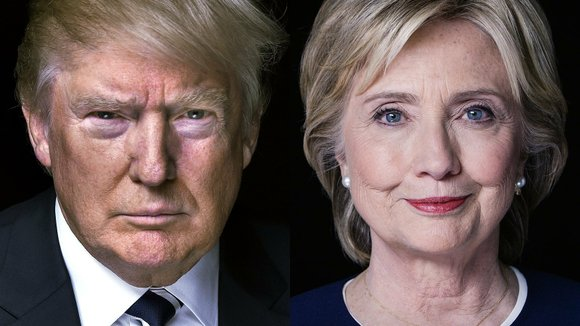 Hillary Clinton leads Donald Trump across the board in a new poll of battleground states.
