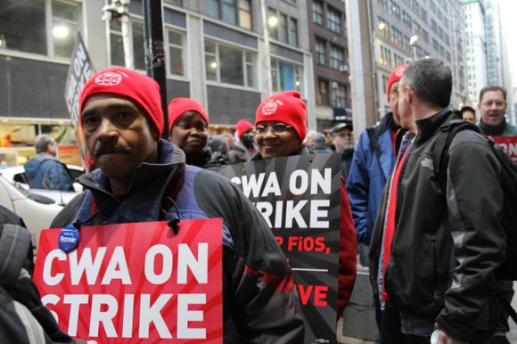 Almost three weeks ago, 37,000 Verizon technicians and customer service representatives walked off the job, pushing for a better contract ...