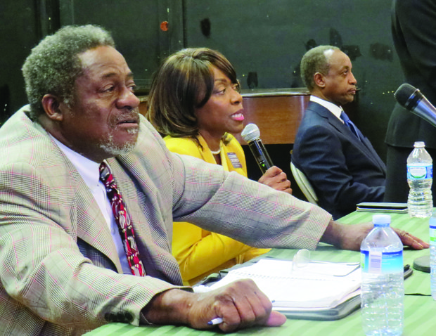 Businessman Joe Bembry, former Commissioner Connie Stokes and former Superintendent Michael Thurmond are running for DeKalb CEO.