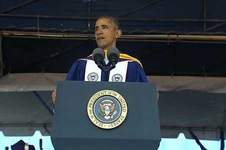 President Barack Obama warned against a culture of political correctness on college campuses Saturday as he urged students at Howard ...