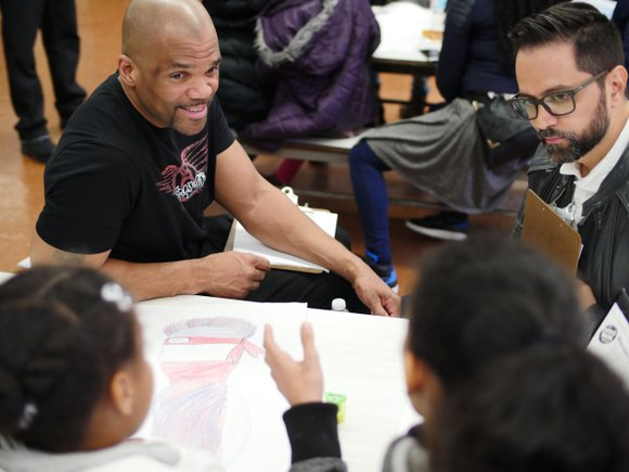 April 27 the New York City Department of Youth & Community Development held its first comic book creation initiative for ...