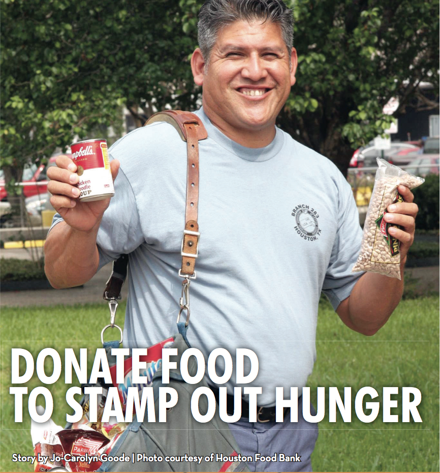 Donate Food to Stamp Out Hungry