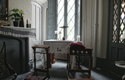 A view of the chapel inside Belmead where the nuns of the Sisters of the Blessed Sacrament pray