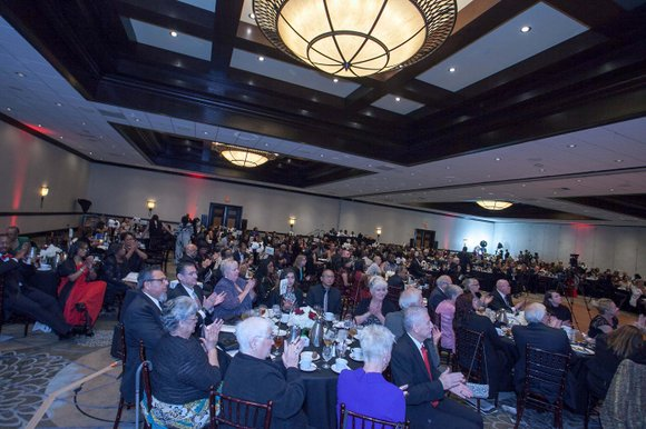 The Empire Ballroom at the Doubletree by Hilton Ontario Airport was filled to capacity on Friday, April 29 for the ...
