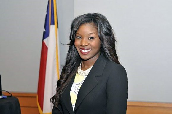 New South Texas College of Law graduate Cha'Mira Keener will have a special well of strength from which to draw ...