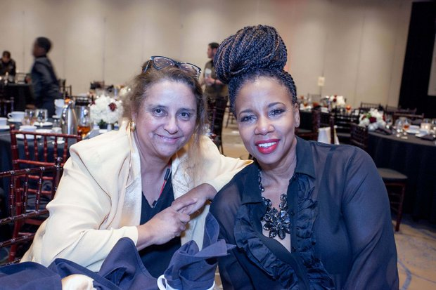 Martha Montoya and Sheila Coates