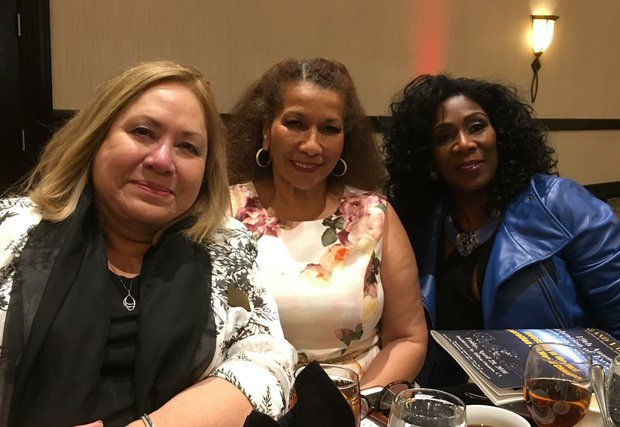 Publisher Advisory Board Members Barbara McCormick, Guillermina Hall and Caren Clifford