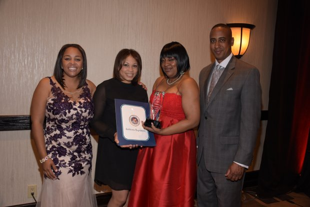 (L-R) Ta Lese Morrow (IVN Co-Publisher); Regina Brown-Wilson, CEO (California Black Media); Tamara Weston,