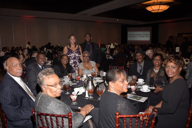 Ta Lese Morrow Co-Publisher (IVN) with distinguished guests
