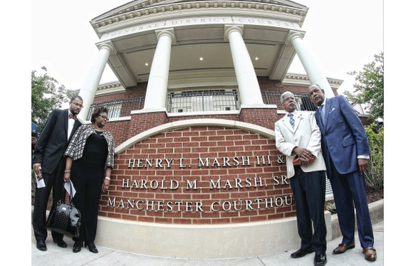 Civil rights was central to the law firm that Henry L. Marsh III organized with the late legal giants Oliver ...