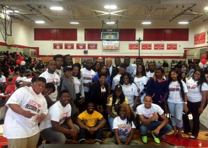 College bound Edmondson-Westside High School seniors had the opportunity to showcase their higher education choices during 'College Decision Day,' a ...
