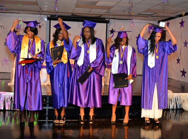 Creative Life Preparatory School held its 2016 Graduation & Promotion Ceremony at the school at 1222 Riverside Blvd. last Thursday (May 19). (Photo: Tyrone P. Easley)