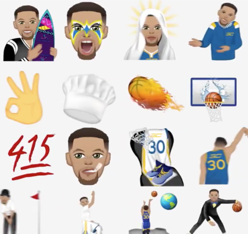 Stephen Curry Launches His Own Emoji App For The NBA Finals | Houston Style Magazine | Urban ...
