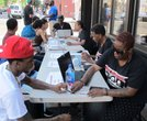 The Black Voter Coalition registers voters in Brooklyn