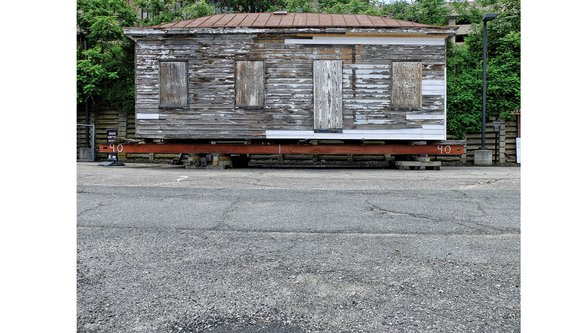 The bedraggled, but historic Winfree Cottage — which now sits beside the Lumpkin's Slave Jail site on the Richmond Slave ...