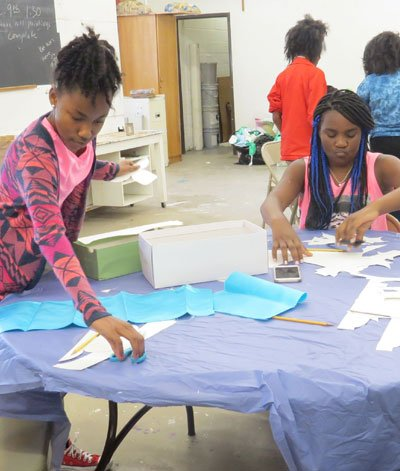 The Mardi Gras Indians Arts Summer Program is a summer camp for 11- 15-year-olds that is designed for them to ...