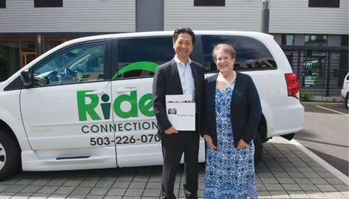 Ride Connection provides public transit services that help pickup senior citizens and take them to doctor's appointments, shopping trips and ...