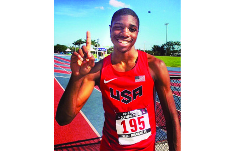Noah Lyles has bigger fish to fry than Virginia's 6A Track and Field Championships.