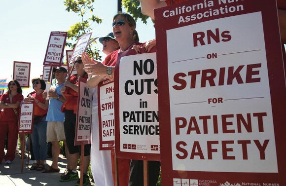 Nearly 10,000 registered nurses in California, Massachusetts, and Minnesota are prepared to strike in late June on a series of ...
