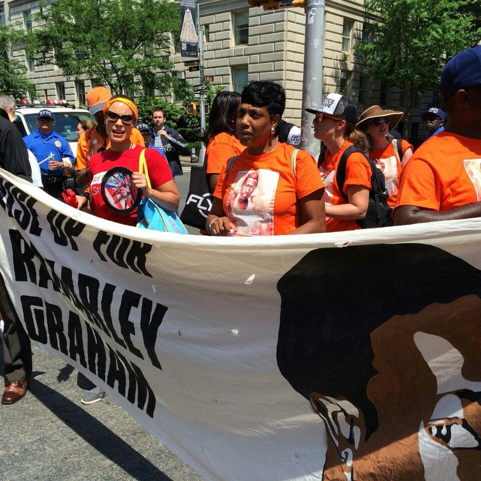 Ramarley Graham Marchers Trek 17 Miles To One Police Plaza