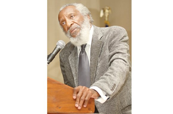 Dick Gregory will be in Richmond this week to help launch the annual two-day Juneteenth celebration to mark African-American liberation ...