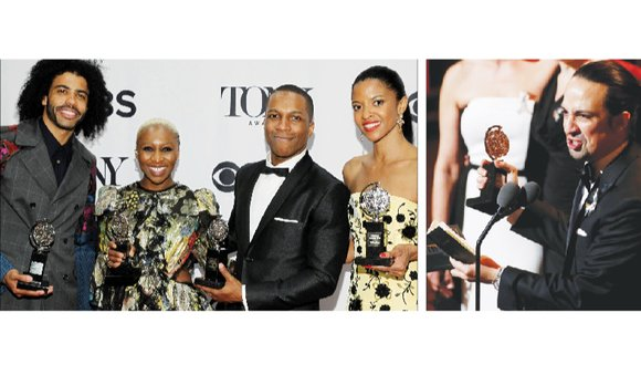 People of color snagged the top Tony Awards for performances on Broadway stages during the past year— a sharp contrast ...