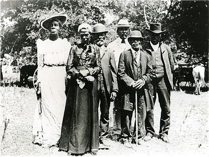 Juneteenth celebration in Austin, Texas in 1865