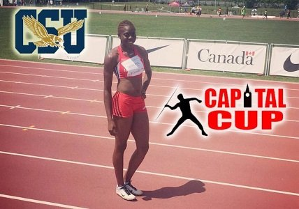 Coppin State women's track and field student-athlete Khemani Roberts competed last weekend for her native country of Trinidad & Tobago ...