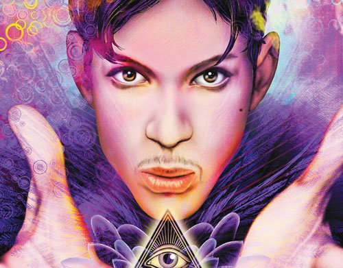 """Tribute Prince"" is available in print for $3.99 at Comic Flea Market."