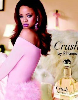 Rihanna announces the debut of Crush by Rihanna, the second fragrance in her namesake RiRi collection.