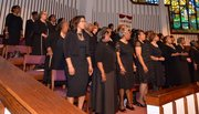 The PNBC Mass Choir showed out each time it was called upon.