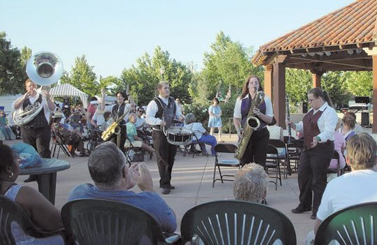 "Six free ""Music in the Park"" events will take place on alternate Thursdays this summer at Palmdale's Poncitlan Square, located ..."