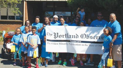 The Portland Observer team proudly represents our title as the oldest running minority newspaper in Oregon.