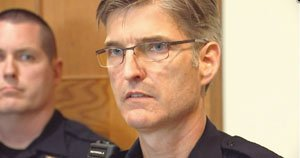 Portland Police Chief Larry O'Dea will be replaced by Captain Mike Marshman, Mayor Charlie Hales announced Monday.