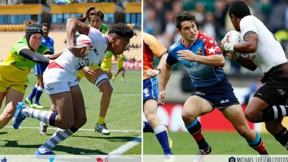 The pool draw for the men's and women's Rugby Sevens competitions at the Games of the XXXI Olympiad - the ...