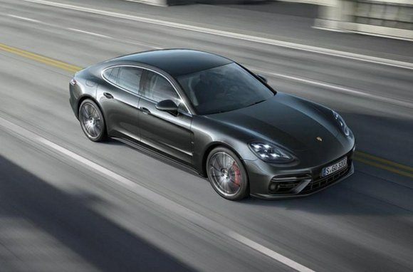 Porsche unveiled an all new, more powerful second-generation Panamera hatchback on Tuesday. The new version of Porsche's four-door car looks ...