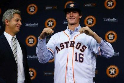 Houston Astros Forrest Whitley