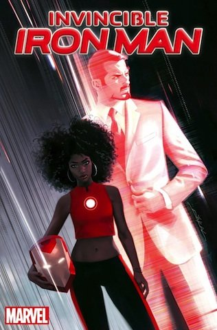 There's a new Iron Man coming to comic books -- and it's not a man. A black female character is ...