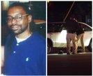 Shooting scene where Philando Castile was killed by police