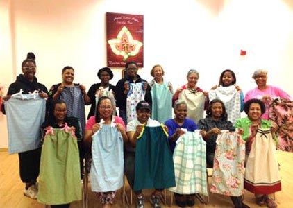 Pillowcase Dresses For Africa Custom Local AKAs Creating 'Little Dresses For Africa' The Baltimore