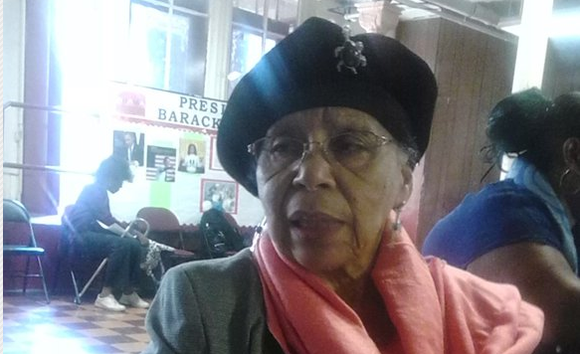 In 2011 Congressman Charles Rangel honored her. On the 50th anniversary of the Selma to Montgomery March, she was at ...