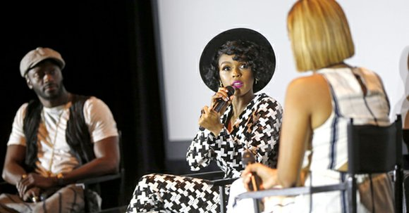 Janelle Monae said she was honored to be part of an upcoming film that tells the little known-story of three ...