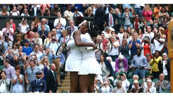 After Serena Williams won her 22nd Grand Slam, she and sister Venus take doubles championship.
