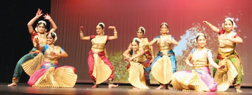 """Rangeela - The Dance Show"" - was a unique effort by the Indian community of Portland to raise funds to ..."