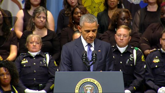 Obama insisted the nation is not as divided as it seems and called on Americans to find common ground in ...