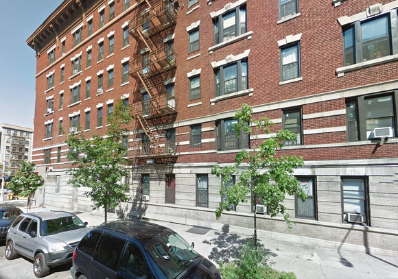 The tenants of 295 W. 150th St. in Harlem held a press conference and rally outside of their building Wednesday, ...