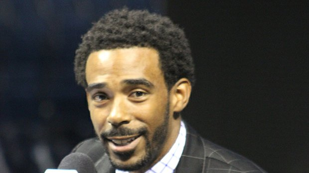Mike Conley speaks to media at a press conference on July 14, 2016.
