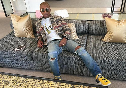 Pharrell turns to the Stan Smith for next Adidas collab.