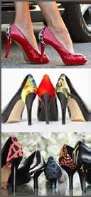 "Missouri-based shoe fashion accessory company, ""Heelusions"" Heels by Design, has brought to market a completely new concept in women's shoe ..."