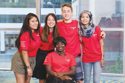 Bank of America is helping five Portland students with investing in their futures.
